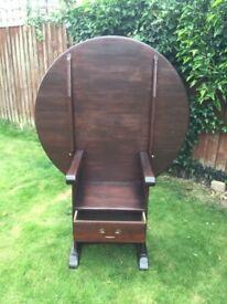 Antique monks chair