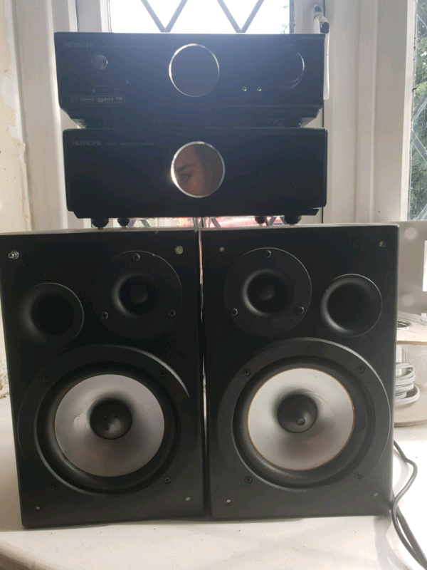 Hitachi double speakers | in Southampton, Hampshire | Gumtree