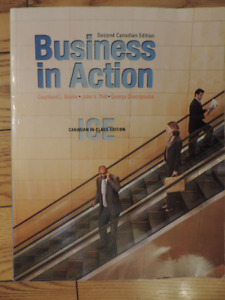 Business in Action second canadian edition