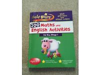 Gold Stars - 200+ Maths and English Activities for Key Stage 1