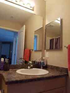 Urgent- Room for rent in two bedroom condo