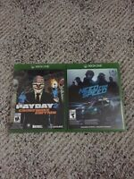 Payday 2 and Need For Speed