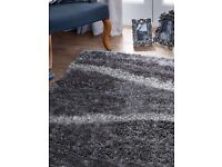 RUG THICK TEXTURED SHAG PILE STUNNING QUALITY