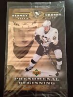 Sidney Crosby phenomenal beginning over sized cards