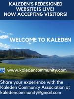 Welcome to Kaleden