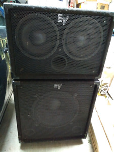 EV Bass speakers
