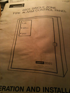 fire alarm Operation Installation Panel Control Manual