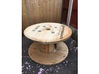 Garden wooden spools projects price each
