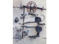 Racer bike parts