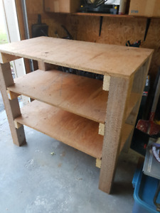 Wooden work bench (Gone PPU)