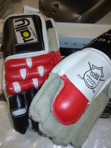 Vintage Bobby Orr Hockey Gloves collectors Kids Editions .