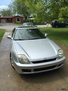 Honda Prelude 2000 with 230 863km.... Silver, Tints, Spoiler, V-