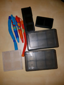 Nintendo DS game holder & stylists