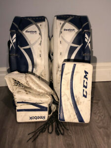 Reebok/CCM Lefevre Junior Hockey Goalie Equipment