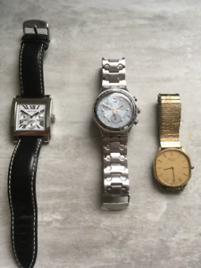 Montre Point Zero, Montre SWATCH, Raymond Weil ventage