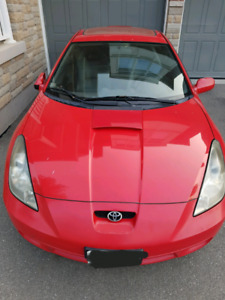 2000 Toyota Celica Hatchback*not running* for parts or hobby car
