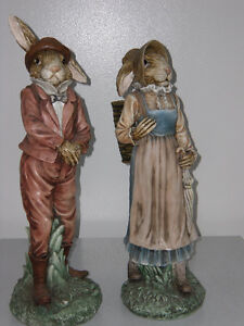 Easter Rabbit statues