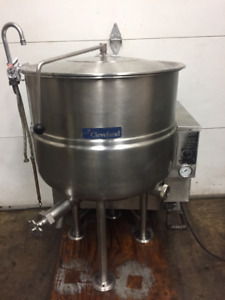 Cleveland 40 Gallon Gas Stationary Steam Kettle