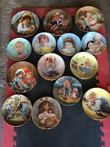 LATE 70's & EARLY 80's COLLECTOR PLATES