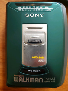 Walkman Sony WM-FX177 MegaBass
