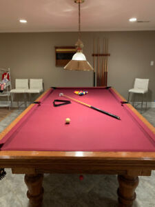 Canadian Billiards and Bowling Professional Size Pool Table