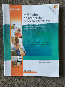 Méthode de recherche en sciencies infirmières