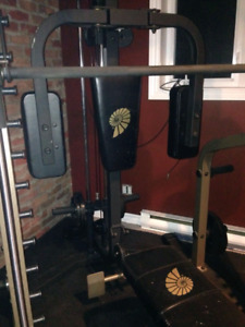 Heavy duty gym set