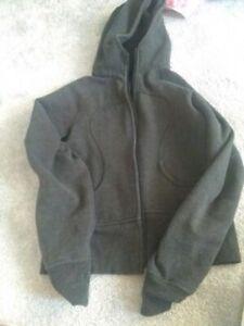 BNWT Size 8 Scuba hoodie. lululemon