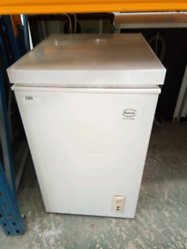 💫Swan small chest freezer with 3 months warranty at Recyk 💫