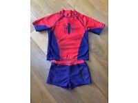 Boys Spider-Man UV Swim Set