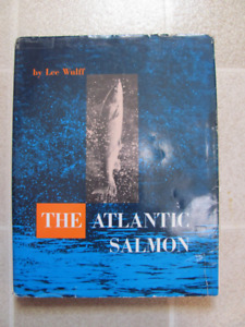 Book The Atlantic Salmon by Lee Wulff, hardcover $65