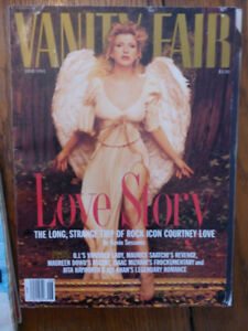 Vanity Fair magazine - Courtney Love - 1995