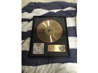 Greenday gold platinum vinly disk