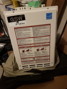 GSW Water Heater N2072 Non-Condensing Tankless Gas
