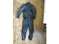 Frank Thomas Motorcycle Motorbike Leathers Jacket and trousers