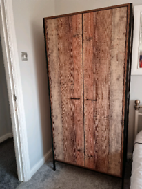 Industrial Style wardrobe 2 available £50 each or £90 for both