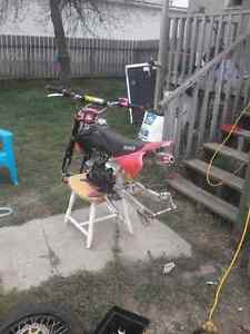 Racing pit bike not a gio not a taotao same as pitster pro