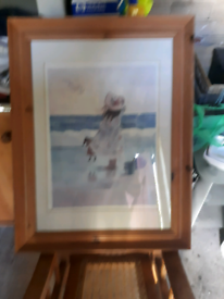 Nice print called Playing On The Beach by Christina Kieffer.