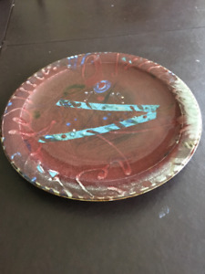 Kayo O'Young Pottery - vintage platter impeccable