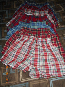 NEW 6 Pair Cotton Blend Boxer Shorts in Size 3 T