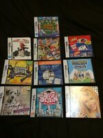 Nintendo DS Games lot or individual