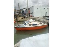 15ft sailing boat