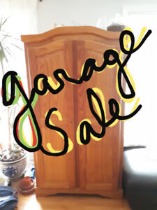 *NEW DATE* GARAGE SALE AUG 5 10am-4pm