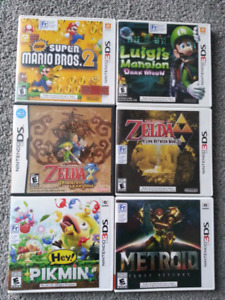 5 awesome Nintendo 3DS games and one DS games