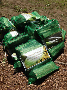 Firewood - Dry Seasoned and Bagged ($8 / Bag)