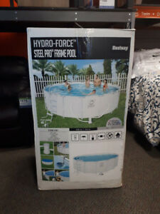 Hydro Force above ground pool 16*48 w/ filter pump