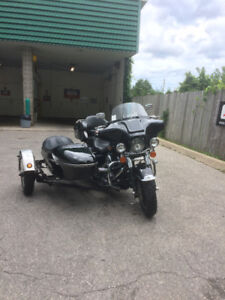 1998 road king with side car
