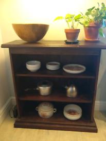 Solid Oak Kitchen Sideboard Shelves