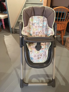 Graco Meal Time high chair - Forest Friends