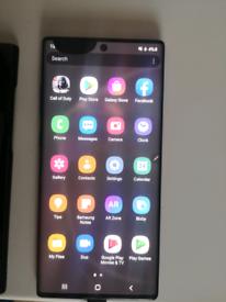Aura Black Galaxy note 10 plus 5g unlocked